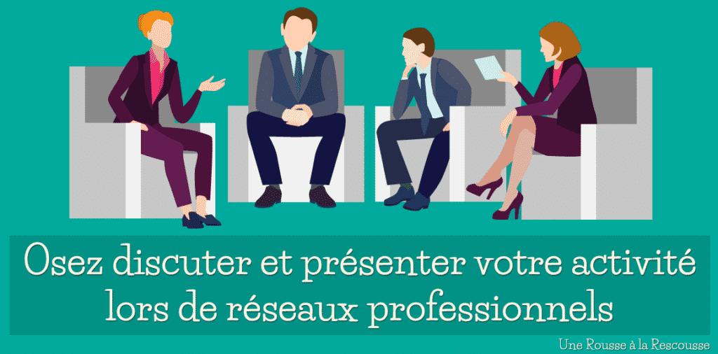 Secrétaire indépendante : osez discuter et présenter votre activité lors de réseaux professionnels