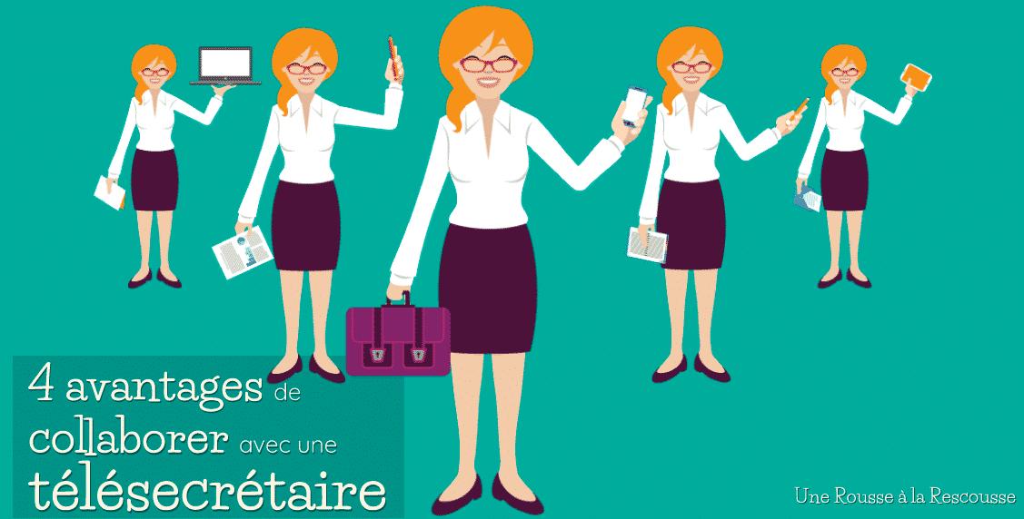 Avantages d'une secrétaire indépendante (ou télésecrétaire)