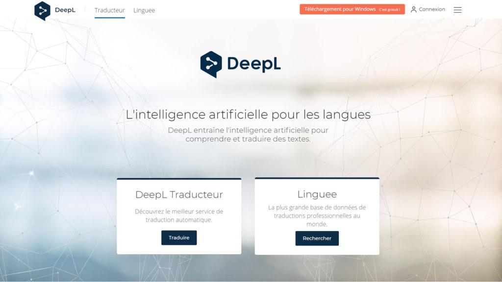 DeepL entraîne l'intelligence artificielle pour comprendre et traduire des textes
