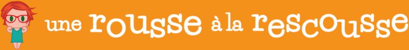 Une Rousse à la Rescousse Logo